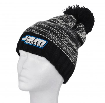 JDM Garage Slalom Boarder Beanie - Black / Grey