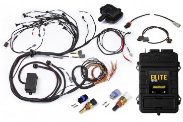 Haltech Elite 2000+ ECU With Terminated Harness Kit Nissan RB30 Single Cam with LS1 Ignition Coil & CAS Sub-Harness