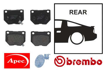 OE Replacement Rear Brake Pads - Nissan Silvia S13 S14 S15 180SX 200SX