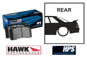 Hawk Rear Brake Pads Fits Mitsubishi Lancer Evolution Evo 5 V 6 VI 7 VII 8 VIII 9 IX GSR 4G63