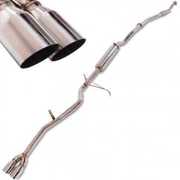 Nissan Navara D22 Stainless Steel Exhaust System - Full