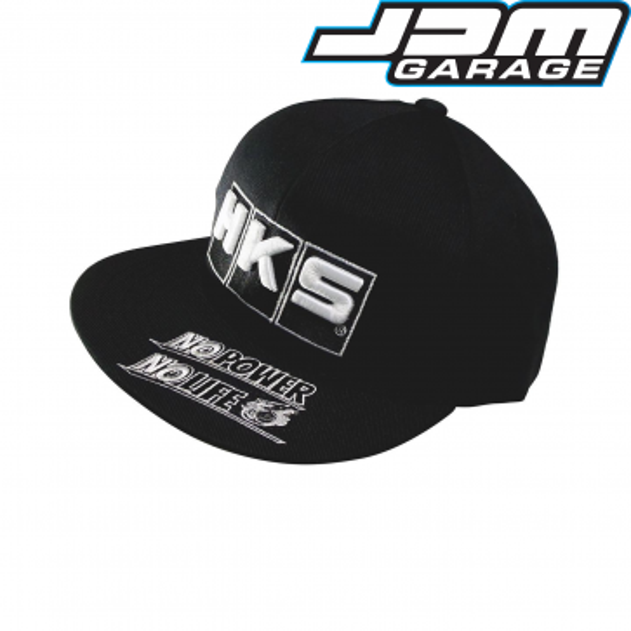 HKS No Power No Life Black Cap - Medium