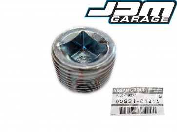Genuine Nissan Rear Differential Diff Oil Fill Plug For Skyline R32 R33 R34 Silvia S13 S14 S15 Fairlady Z 300ZX 00931-2121A