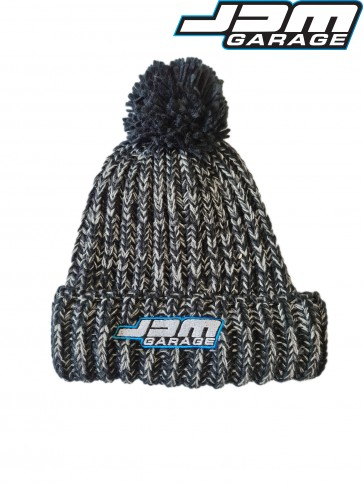 JDM Garage Beanie - Black Twist