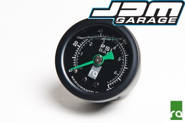 Radium Engineering Fuel Pressure Gauge 0-100 psi Black Bezel 20-0029