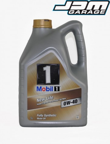 Mobil 1 0W-40 New Life Fully Synthetic Engine Oil