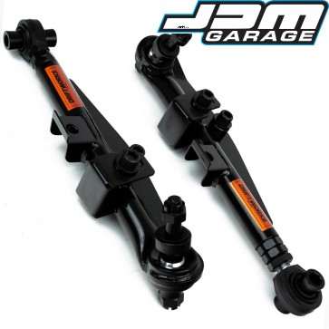 V2 Black Edition Front Lower Control Arms For Nissan Skyline R32 R33 GTST GTT / Silvia S13 S14 S15 / 300ZX Z32