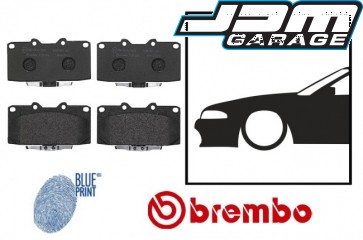 OE Replacement Front Brake Pads - Nissan Skyline R32 R33 GTST R34 GTT GTR Stagea WC34 Cedric Y34