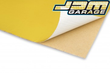 Funk Motorsport Gold Bulkhead Heat Tape Reflective Adhesive Sheets 500mm x 500mm