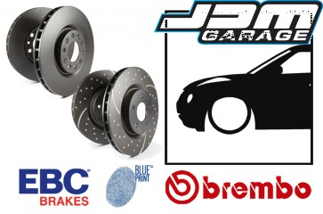 OE Replacement & EBC GD Series Front Brake Discs - Nissan Juke