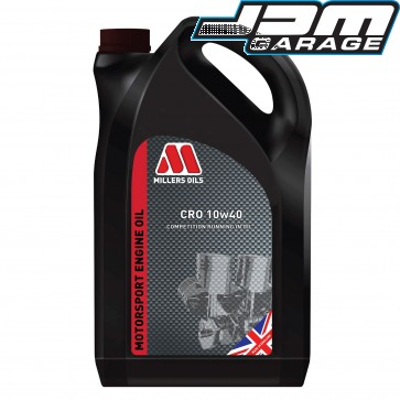 Millers Oils CRO 10w-40 Competition Running In Mineral Engine Oil