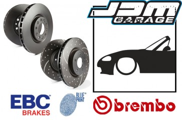 OE Replacement & EBC GD Series Front Brake Discs - Mazda MX5 Mk2 NB 98-05