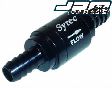Sytec One Way Valve with 8mm Push on Tails - Various Colours