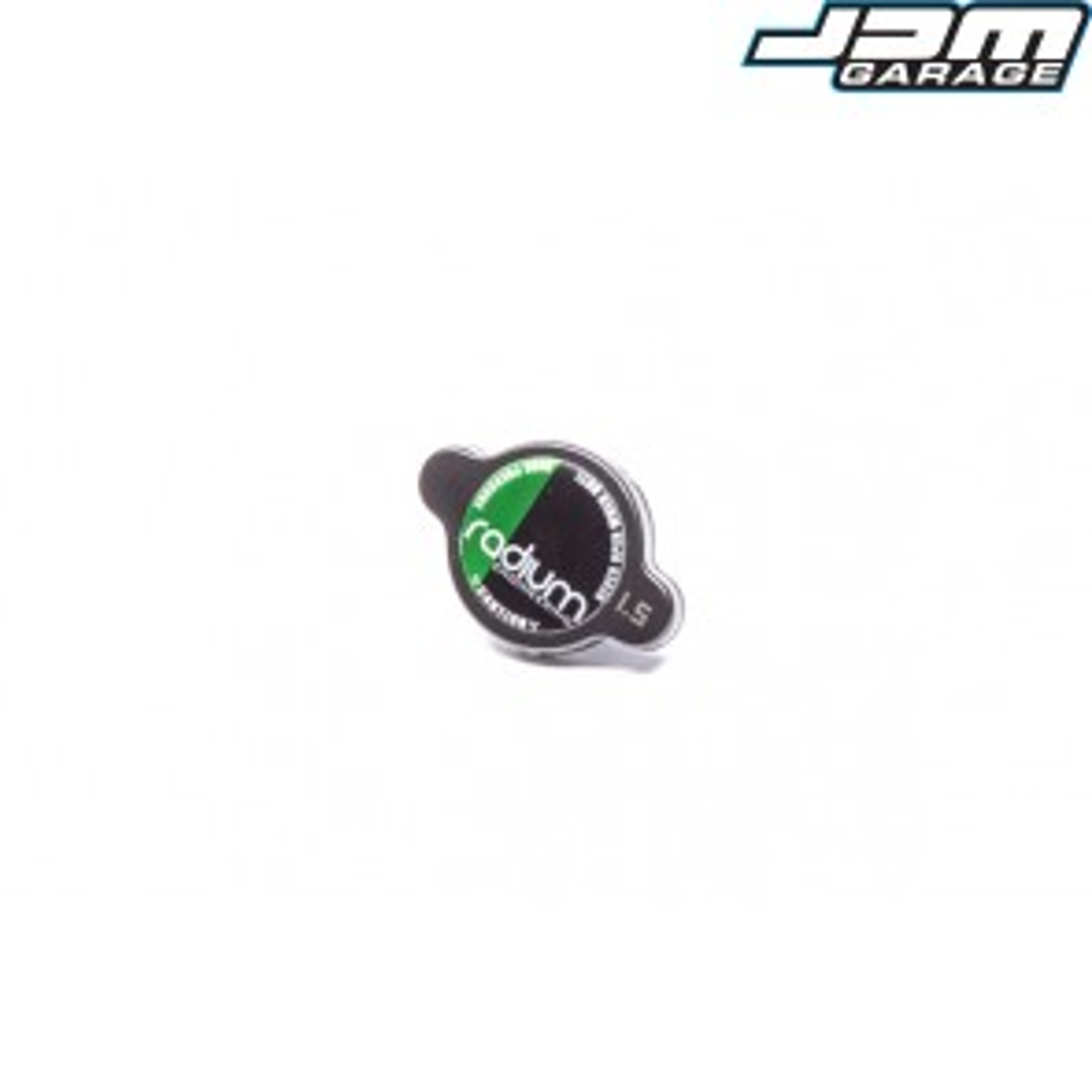 Radium Engineering Radiator Cap Type-B 1.3 Bar Black