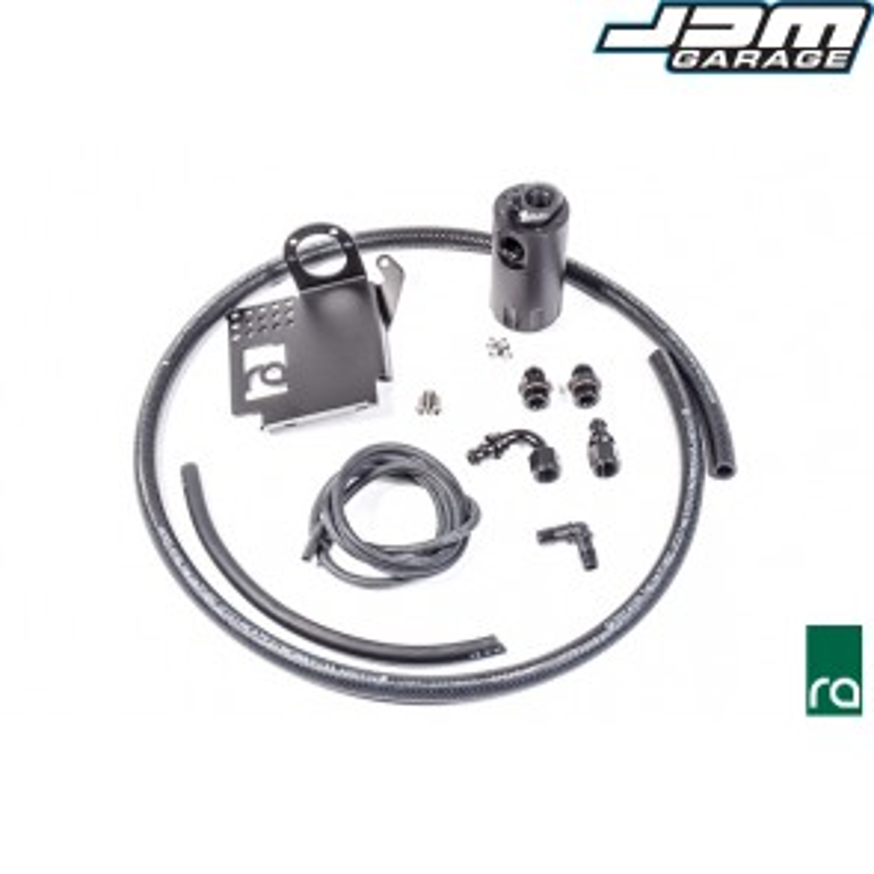 Radium Engineering Single Crank Case Catch Can Kit For Honda S2000 AP1 AP2 F20C F22C