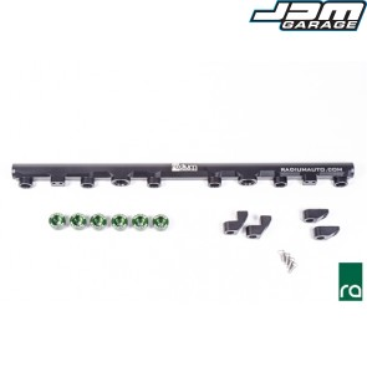 Radium Top Feed Fuel Rail Conversion Kit 2JZ-GTE 2JZGTE Supra (SHORT INJECTOR) 20-0215