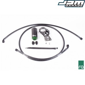 Radium Engineering Fuel Feed Line Kit With Stainless Steel Filter For Mitsubishi Lancer Evolution EVO X 10 4B11T CZ4A