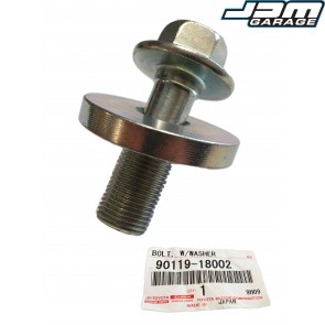 Genuine Toyota 2JZ GE GTE Crank Pulley Bolt With Washer Fits Supra JZA80 / Aristo JZS161 90119-18002