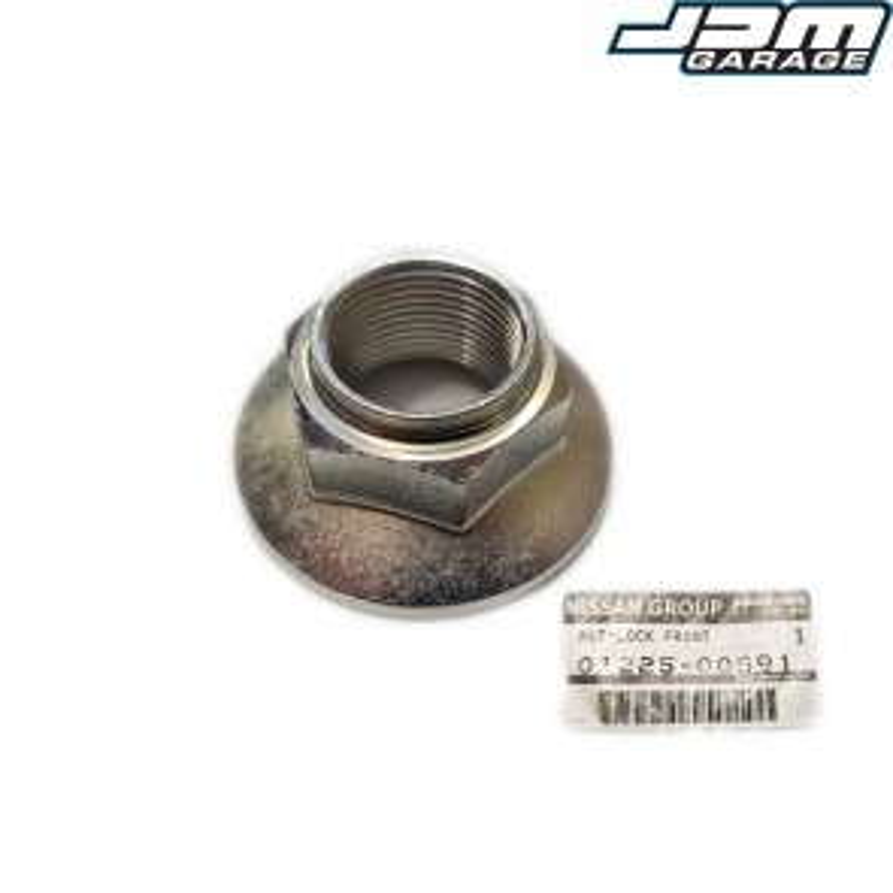 Genuine Nissan Front Wheel Bearing Lock Nut Skyline R32 R33 R34 Silvia S14 S15 Stagea WC34 Laurel Fairlady Z32 01225-00591