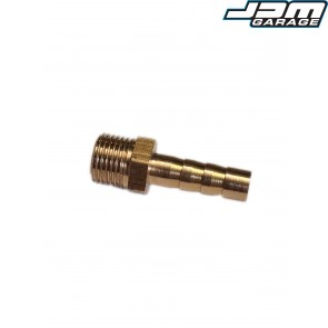 JDMGarageUK 1/8 BSP to 6mm Brass Barb Fitting