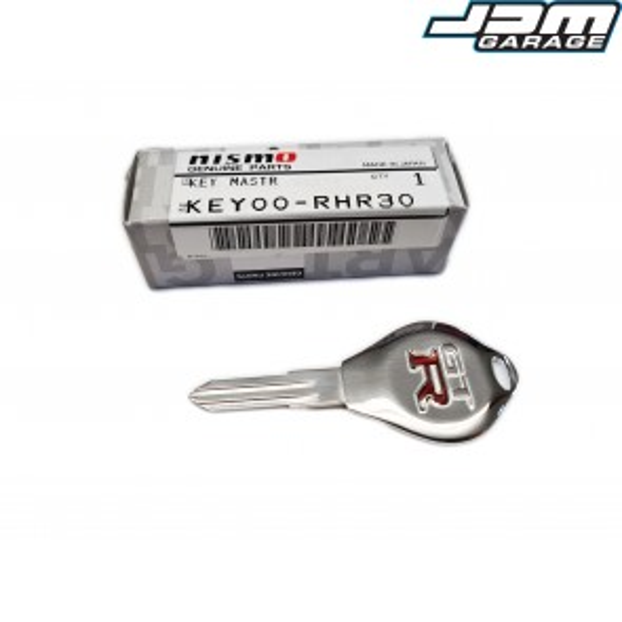 Genuine New Nismo Heritage Master Key Blank Uncut Nissan Skyline R32 R33 GTST GTR / Silvia S13 S14 / Stagea C34 / Cefiro A31 / Laurel A33 / Pulsar GTIR KEY00-RHR30