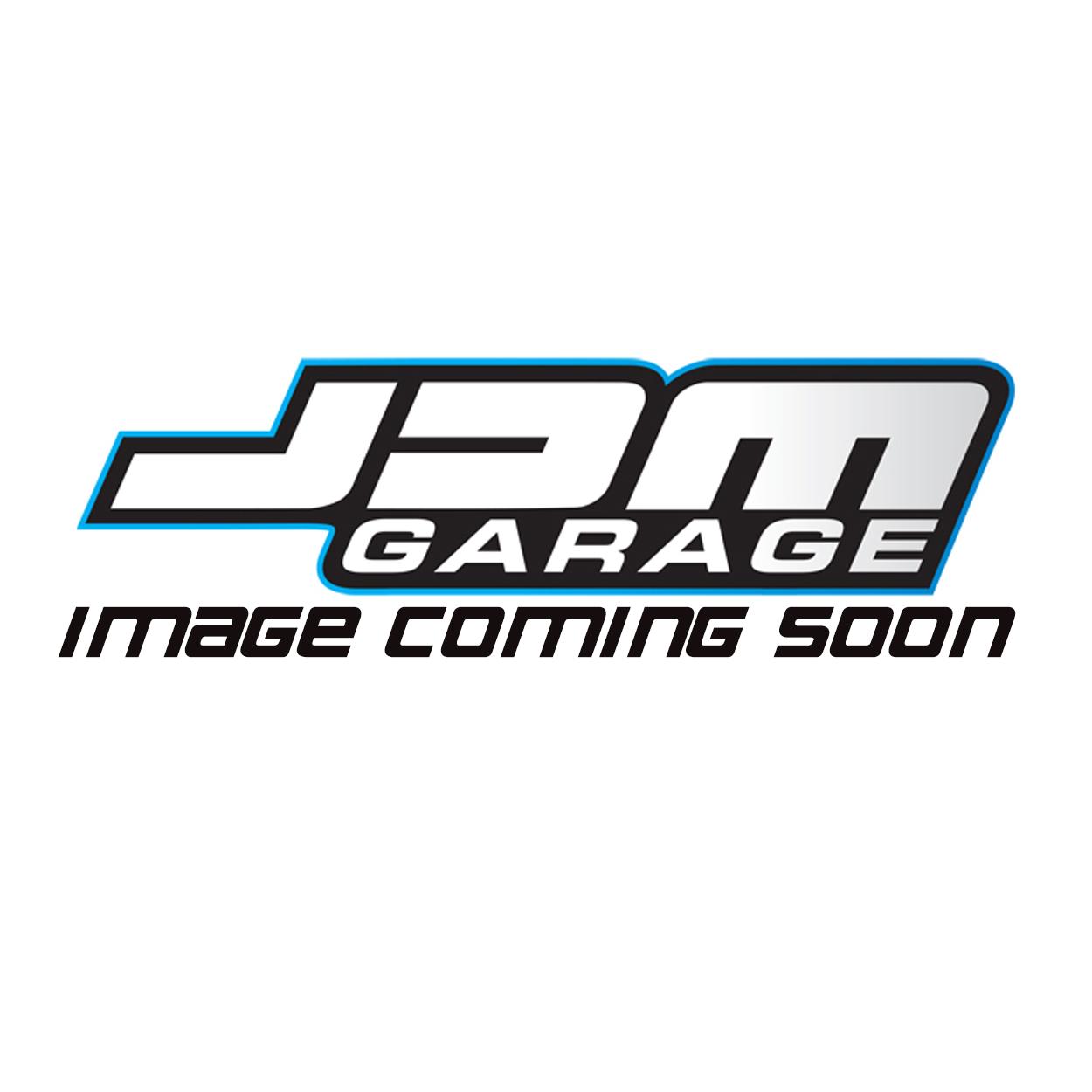 JDM Garage Vintage Trucker Snap Back Cap - White / Blue Mesh