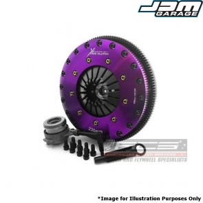 Xtreme Clutch & Flywheel - 230mm Organic Twin Plate - VW GOLF GTI MK6 MK7 & R / SCIROCCO