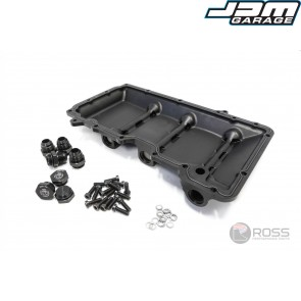 Ross Performance Nissan VQ35HR / VQ37HR Billet Dry Sump