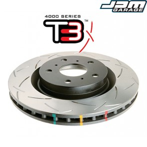 DBA 4000 Series Rear Brake Disc - T3 - For Mitsubishi Lancer Evo Evolution 4 IV 5 V / Galant VR4 / Legnum VR4 / Space Wagon