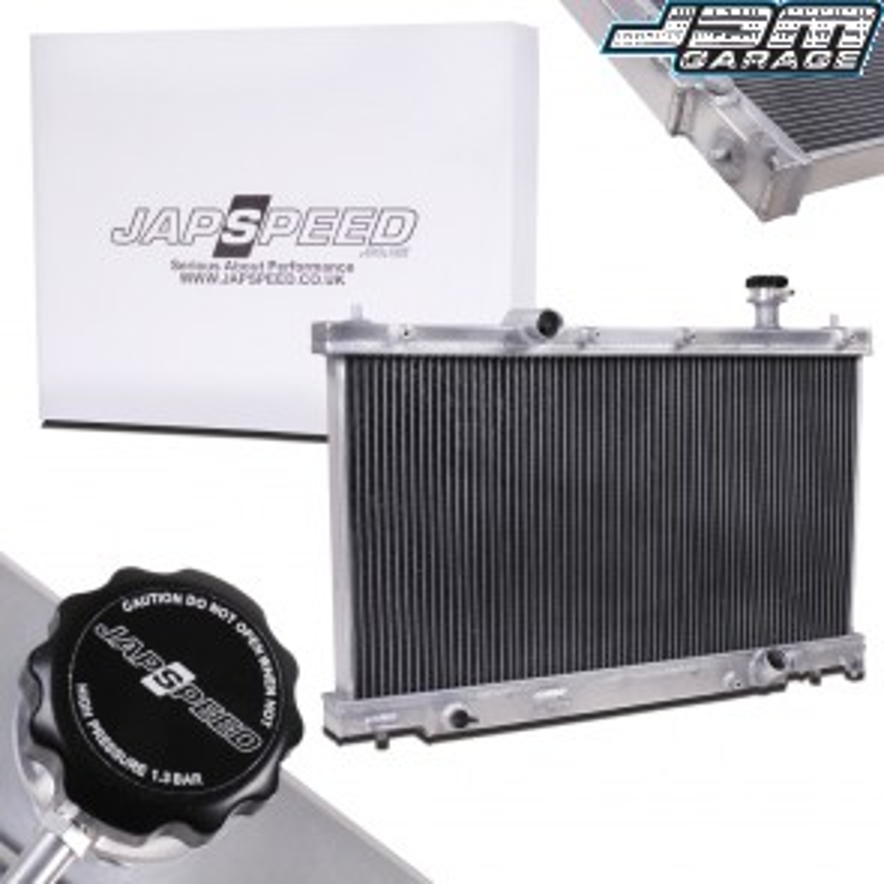 Honda Civic Type-R EP3 Aluminium Radiator