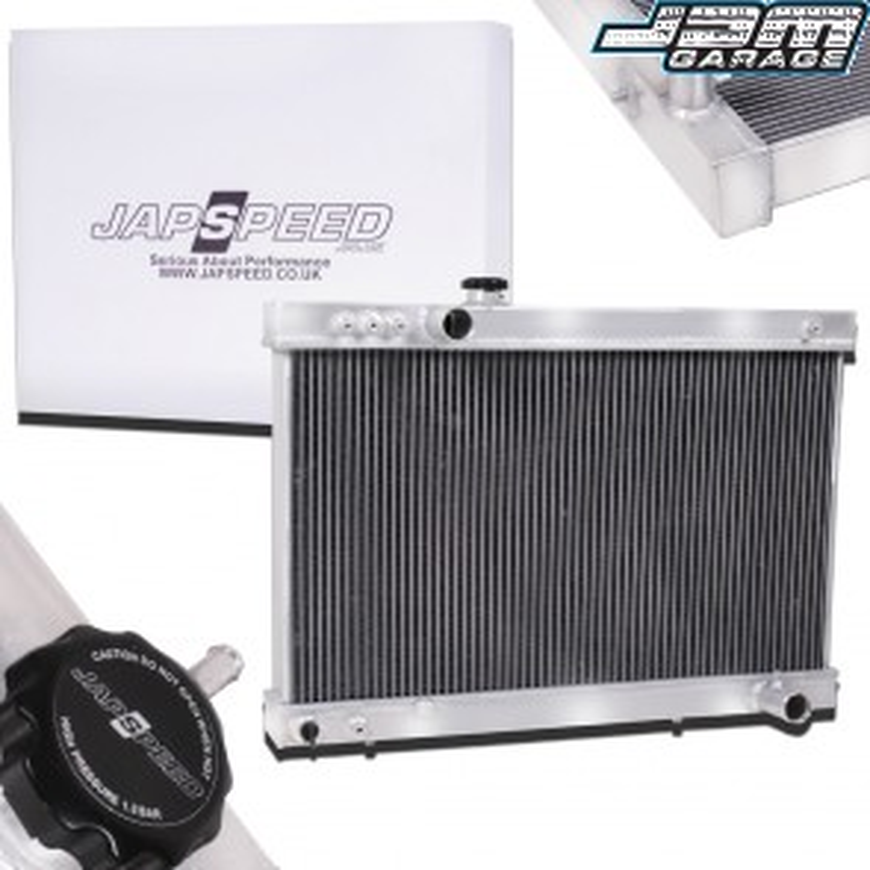Toyota Supra Mk3 Aluminium Radiator