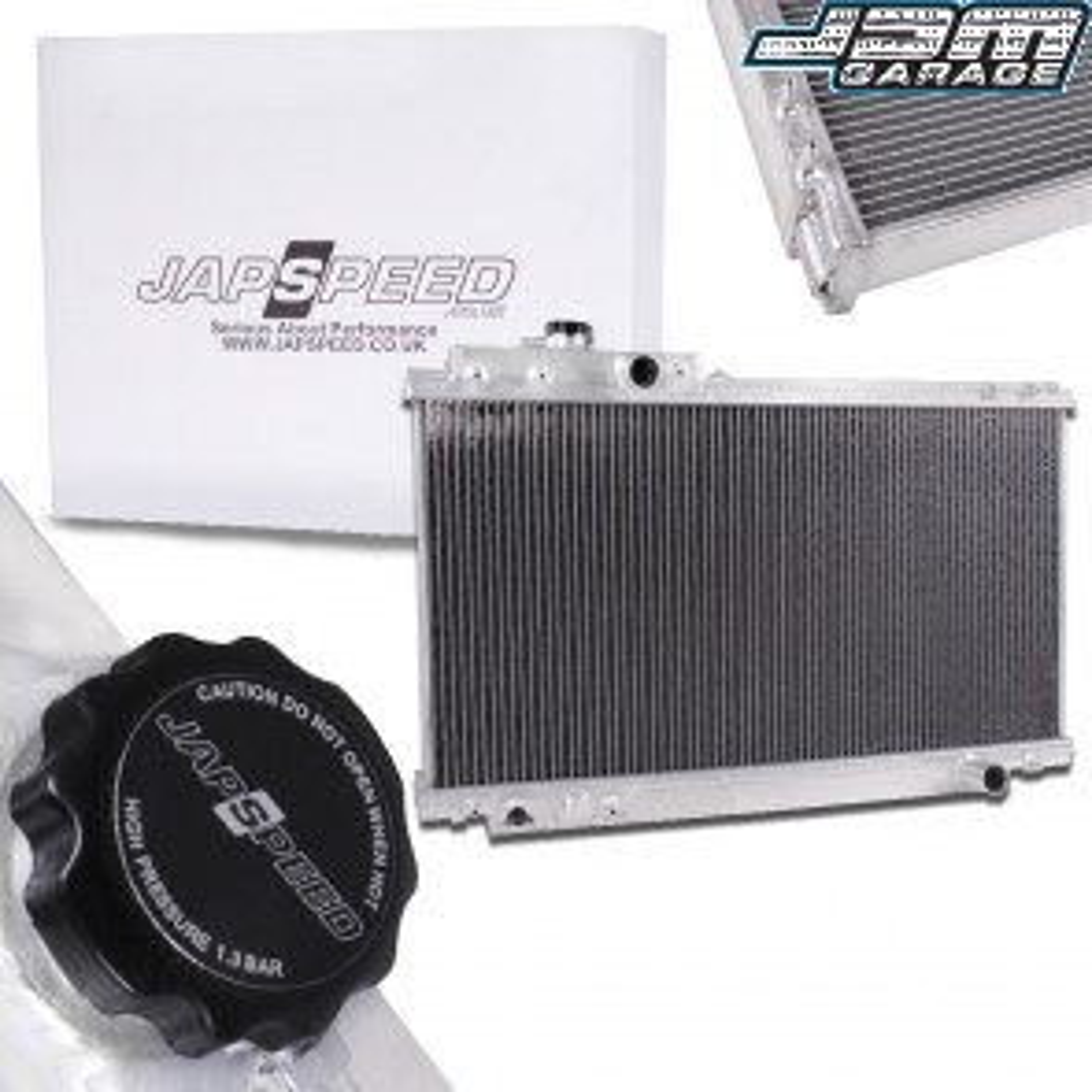 Toyota Supra Mk4 JZA80 2JZ Aluminium Radiator