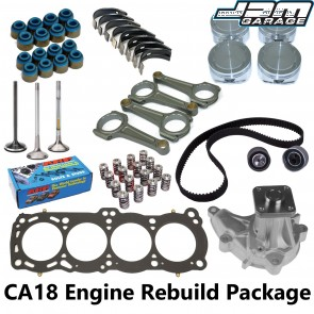 CA18DET Engine Rebuild Package - S13 200SX