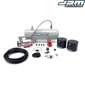 BMW E9x 3 Series Front Air Cup Kit for HSD Monopro Coilovers