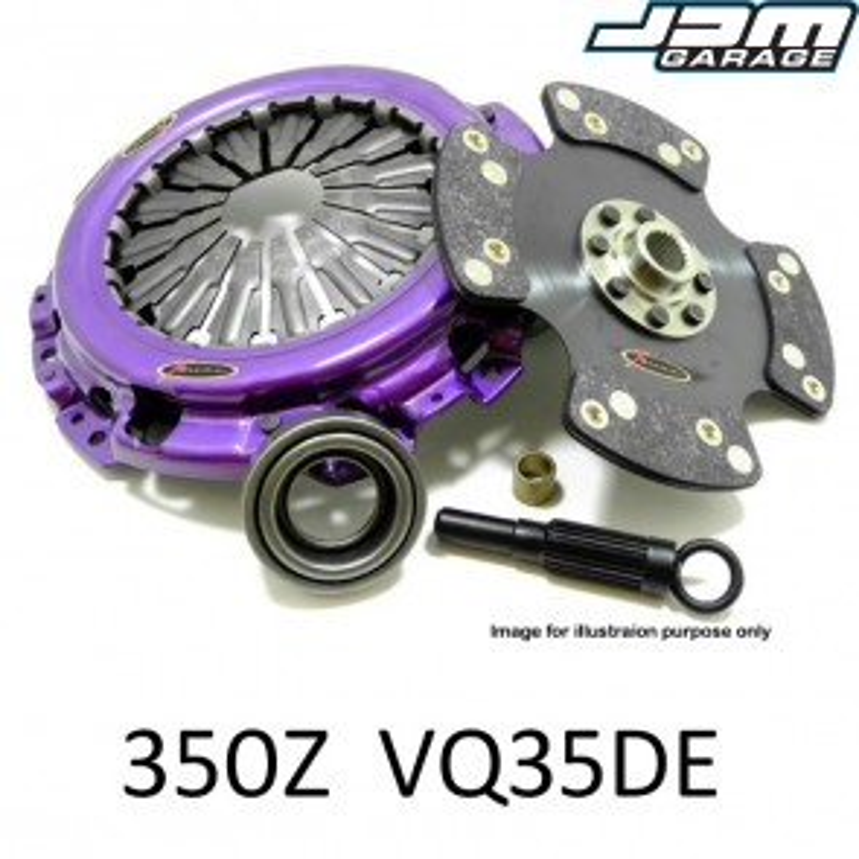 Xtreme Clutch & Flywheel - Organic / Ceramic / Carbon / Single & Twin Plate - Nissan 350Z Z33 02-07 VQ35DE