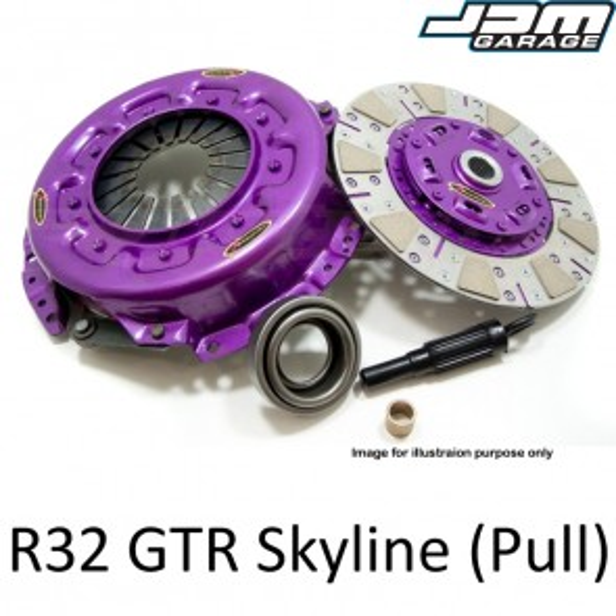 Xtreme Clutch & Flywheel - Organic / Ceramic / Carbon / Single & Twin Plate - Nissan Skyline R32 GTR RB26DETT Late model (Pull-Type)