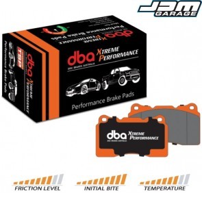 DBA Xtreme Performance Front Brake Pads For Mitsubishi Lancer Evo Evolution 5 V 6 VI 7 VII 8 VIII 9 IX 10 X