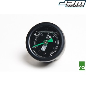 Radium Engineering Fuel Pressure Gauge With 8AN ORB Adapter