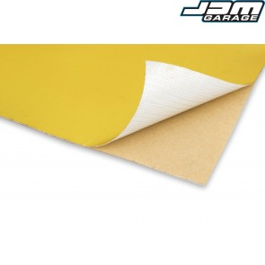 Funk Motorsport Gold Bulkhead Heat Tape Reflective Adhesive Sheets 300mm x 420mm (A3)