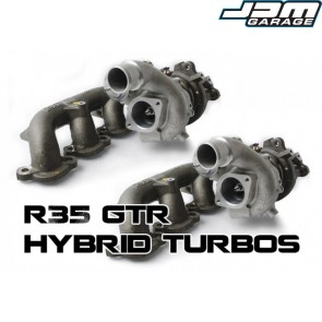 Nissan R35 GT-R VR38DETT Uprated Turbos