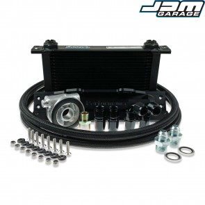 Oil Cooler Kit - Mitsubishi - Lancer Evo 1, 2, 3, 4, 5, 6, 7, 8, 9, 10