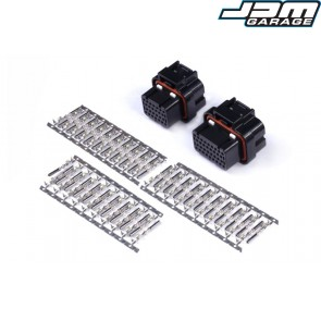 Plug and Pins Only - AMP 26 & 34 Pin 4 Row 3 Keyway Superseal Connector Set