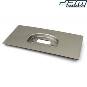 Haltech IQ3 Dash Moulded Panel Mount Brushed Silver
