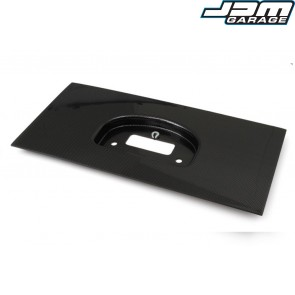 Haltech IQ3 Dash Moulded Panel Mount Carbon Fibre Look