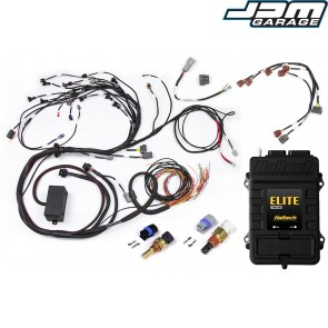 Haltech Elite 2000 ECU + Terminated Harness Kit for Nissan RB20/25/26 Twin Cam With Series 1 (early) ignition type sub harness