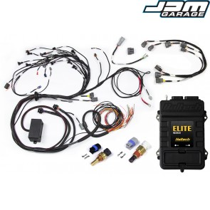 Haltech Elite 2000+ ECU With Terminated Harness Kit for Nissan RB20/25/26 Twin Cam With Series 2 (late) ignition type sub harness