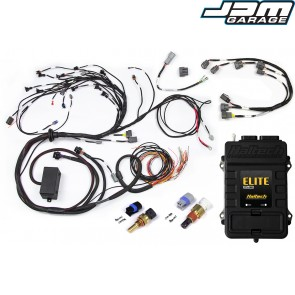 Haltech Elite 2500+ ECU With Terminated Harness Kit for Nissan RB20/25/26 Twin Cam With Series 2 (late) ignition type sub harness