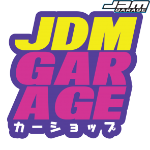 JDMGarageUK JdmGarage Sticker