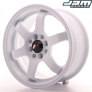 Japan Racing JR3 15x7 ET25 4x100/108 White