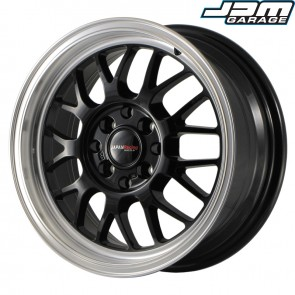 Japan Racing JR4 15x6,5 ET35 4x100/114 Gloss Black